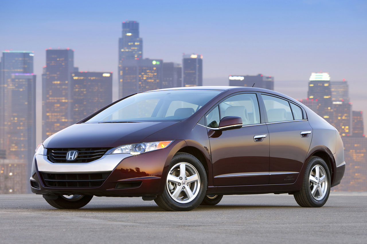 Honda FCX Clarity fue cell car
