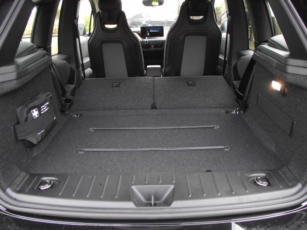 BMW i3 Seat Layout
