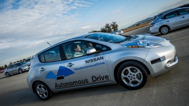 nissan leaf autonomous drive