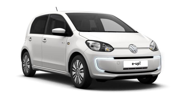 vw e-up ev electric car