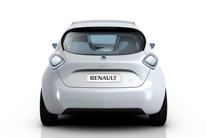 Renault-Zoe-Electric-Car-rear