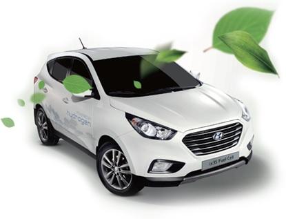 Hyundai ix35 Fuel Cell Car