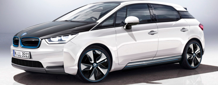 Bmw I5 Plug In Hybrid Electric Car In The Uk