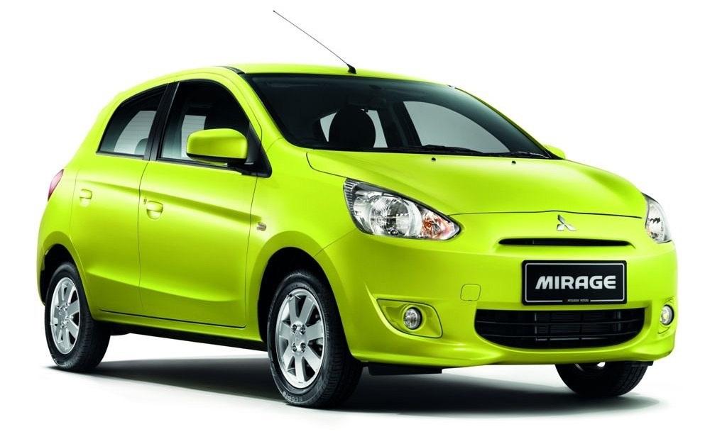 9th: Mitsubishi Mirage