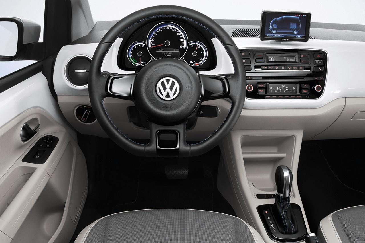 Volkswagen e-up internal dash view